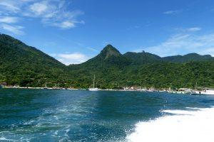 Vacances brésiliennes en bord de mer d'Ilha Grande à Paraty
