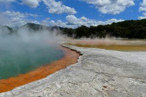 Géothermie: de la presqu'île de Coromandel à Rotorua